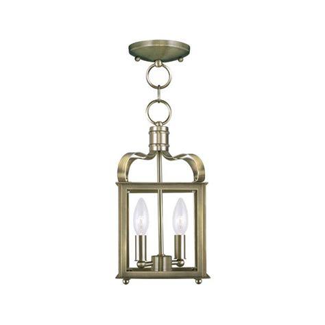 antique 2 light semi flush kitchen ceiling lights filament design providence 2 light antique brass