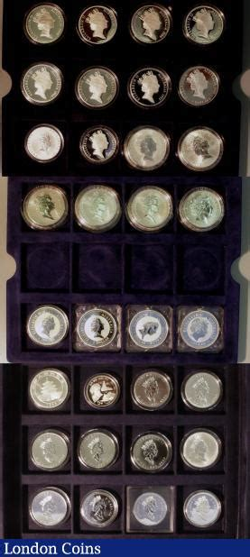 collection of 25 collection buy and sell world cased and proof coins