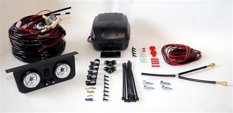 kit air suspension air compressor kit load controller ii air