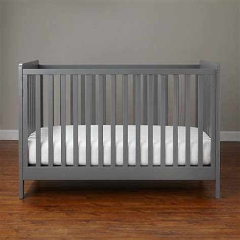 Colored Baby Cribs Modern Wooden Carousel Baby Crib Grey The Land Of Nod