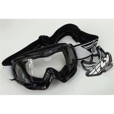 fly motocross goggles fly racing focus youth motocross goggle black