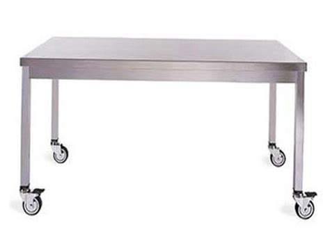 Stainless Steel Kitchen Table With Wheels Home Design Ideas Kitchen Table With Wheels