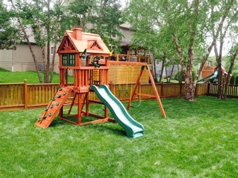 our first soft swing gorilla swing sets recreation installations llc