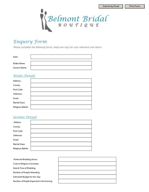 inquiry form template best photos of inquiry form template simple contact form