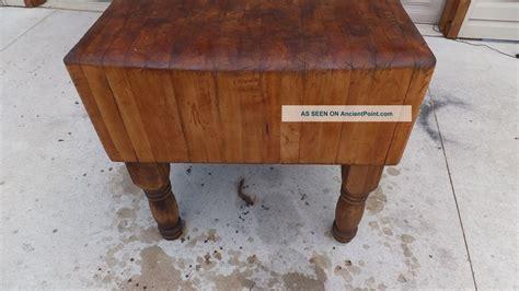 antique butcher blocks for sale antique butcher block table for sale in bracebridge