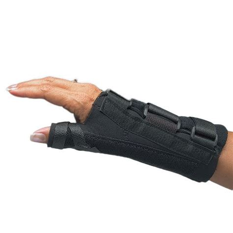 comfort cool splint comfort cool d ring thumb and wrist splint opc health