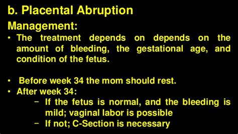 when does bleeding stop after c section placental abnormalities and hemorrhagic complications
