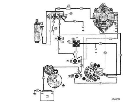 volvo penta alternator wiring diagram yate