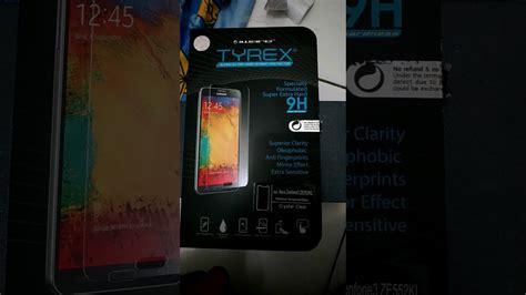 Tyrex Tempered Glass 2 3 4 unboxing tempered glass terbaik tyrex asus zenfone 3 5 5
