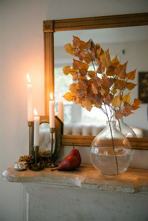 natural fall decor ideas  pinterest student