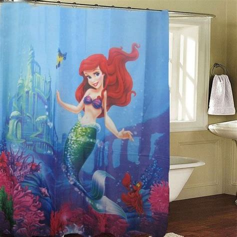 ariel shower curtain little mermaid shower curtain i ordered little mermaid
