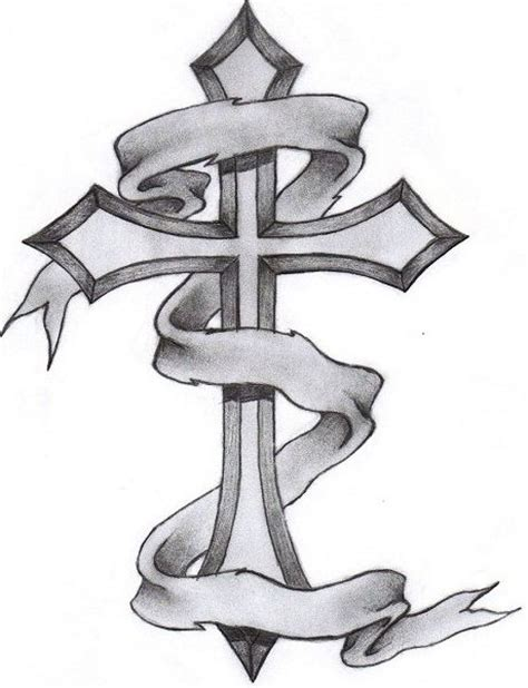 cross tattoo line drawing cross tattoos for men gothic cross tattoo drawing and