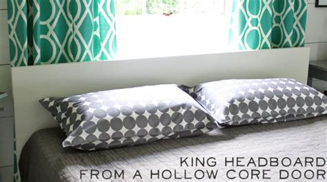 how to make a king headboard how to make a king size headboard