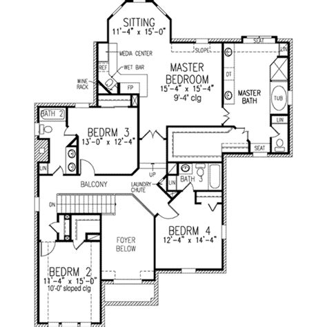 european style house plan 4 beds 3 baths 2800 sq ft plan european style house plan 4 beds 3 5 baths 3443 sq ft