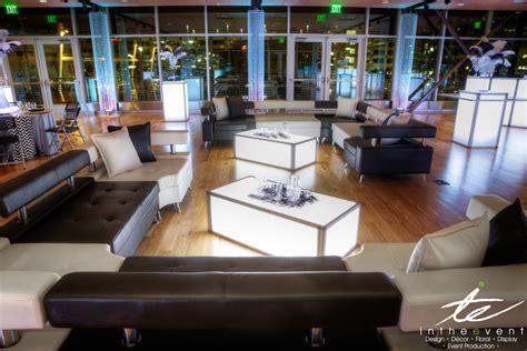 living room events modern event decor