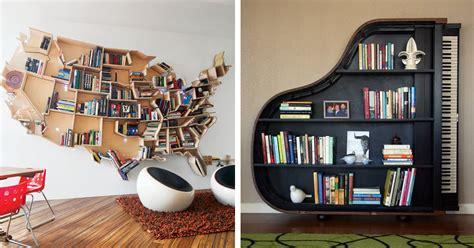 Diy Bookshelf Plans 20 Of The Most Creative Bookshelves Ever Bored Panda