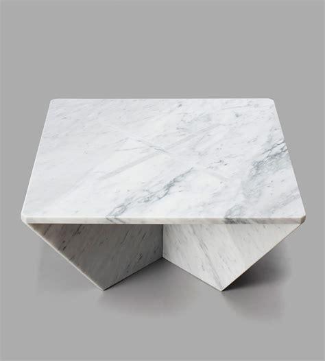 joe doucet flat pack marble furniture fibonacci stone annex snap fit marble tables by joe doucet design milk
