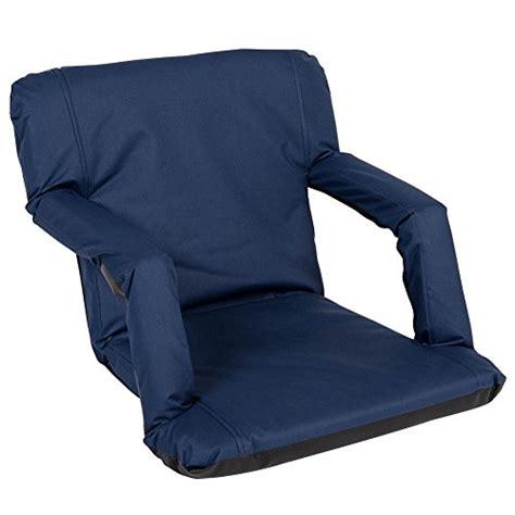 stadium recliner seats sundale outdoor indoor adjustable floor chair five