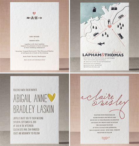 minted wedding invitations 2 minted letterpress wedding invitations invitation crush