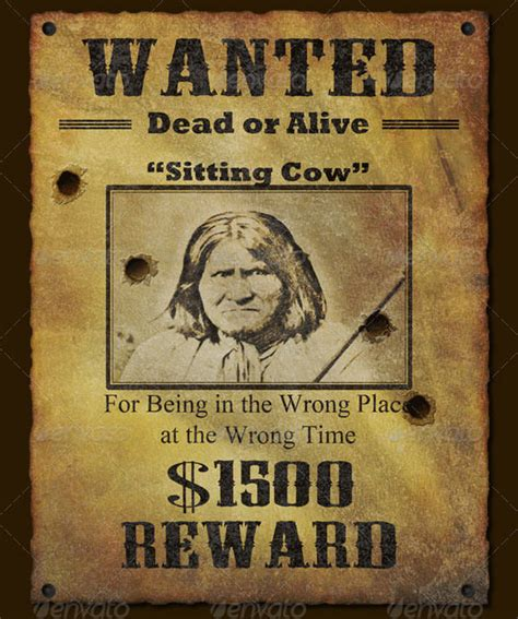 Wild West Wanted Poster Template Www Pixshark Com Western Wanted Poster Template