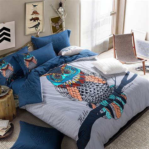 Animal Bedding Sets Beautiful 4pc 100 Cotton Comforter Duvet Doona Cover Sets King Size Animal