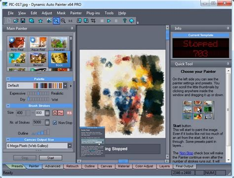 dynamic auto painter templates mediachance софт