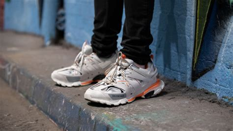 balenciaga track orange and white review kingsdown roots