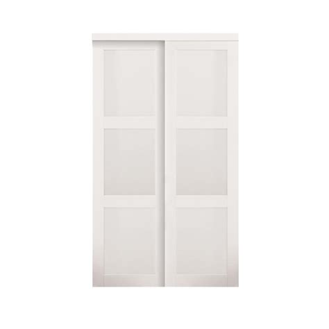 home depot white bedroom doors truporte grand 60 in x 80 in 2030 series white 3 lite