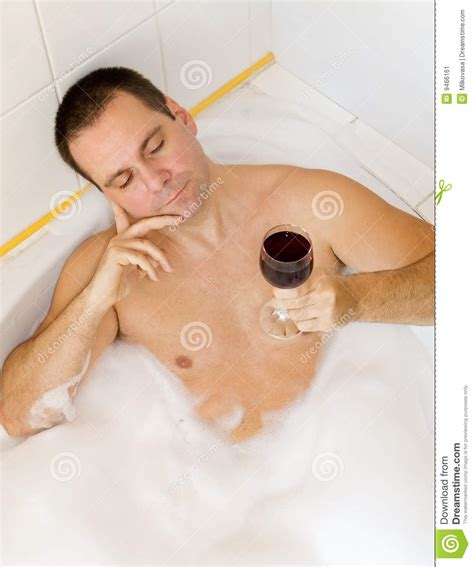 the bathtub man man in bathtub stock image image of healthy drink leisure 9466161