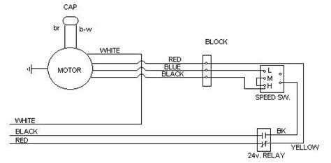 general electric blower motor wiring diagram efcaviation