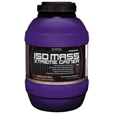 Isomass Xtreme Gainer 3 5 ultimate nutrition iso mass xtreme gainer 4 6kg booster24