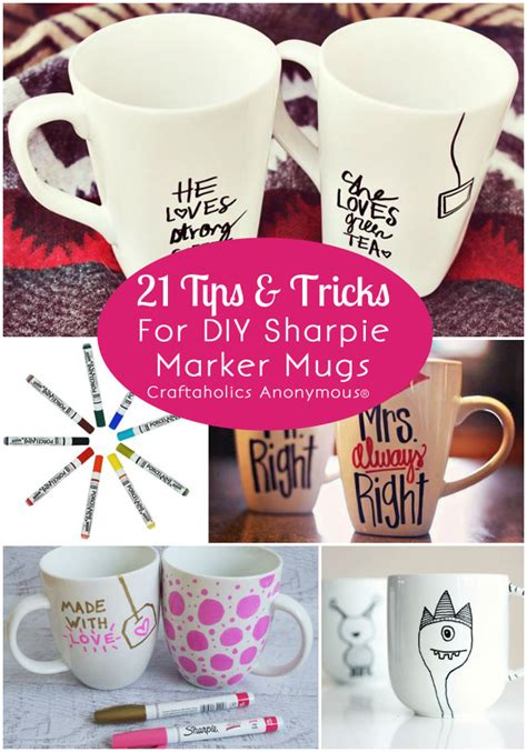 sharpie mug diy marker pen design how to do it leannes blog craftaholics anonymous 174 21 tips for diy sharpie marker mugs
