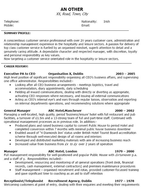 how can i write cv examples 10 how to write a c v examples lease template