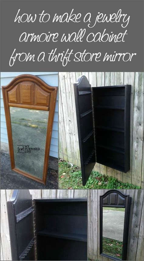 Diy Mirror Jewelry Armoire by How To Make A Mirror Jewelry Armoire Out Of An Dresser