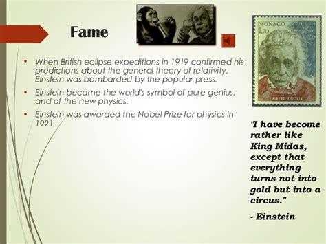 biography albert einstein ppt the life of albert einstein ppt