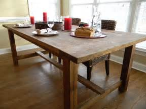 Farm Style Kitchen Tables Farmhouse Wooden Kitchen Tables As Ageless Rustic Interior