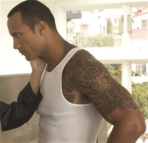 dwayne johnson tattoo anlami car id dwayne johnson tattoos