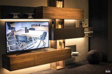 tastefully space savvy  living room tv units  wow