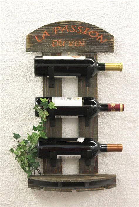 mensola portabottiglie portabottiglie vino mensola 5091 di legno 60 cm bar