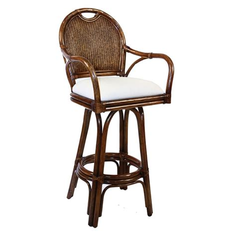 Braxton Pe Wicker Swivel Stool With Arms by 17 Best Images About Bar Stools With Arms On