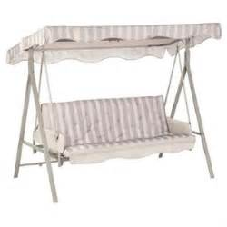 garden treasures 3 person cushion swing replacement canopy