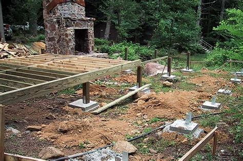 Cabin Foundation Piers by Cabin Foundation Plan Pdf Woodworking