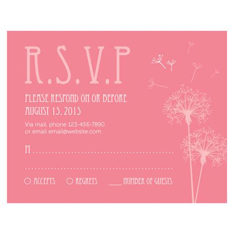 Wedding Invitation No Plus One