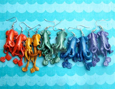 color squid rainbow of squid colors by n chiodo on deviantart