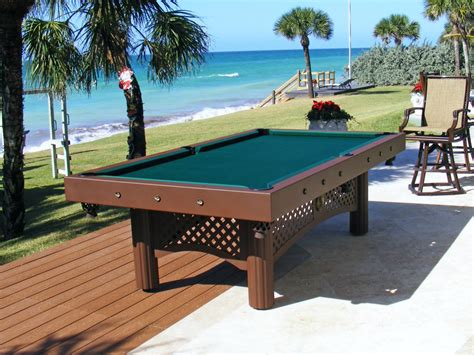 who makes the best pool tables outdoor pool tables robertson billiards