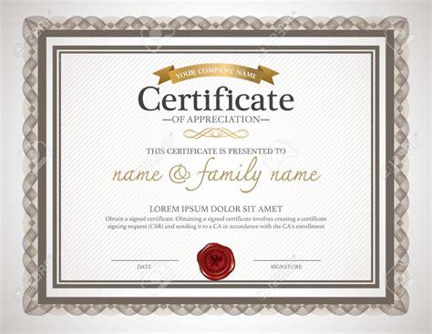 certificate design word format certificate design template certificate templates