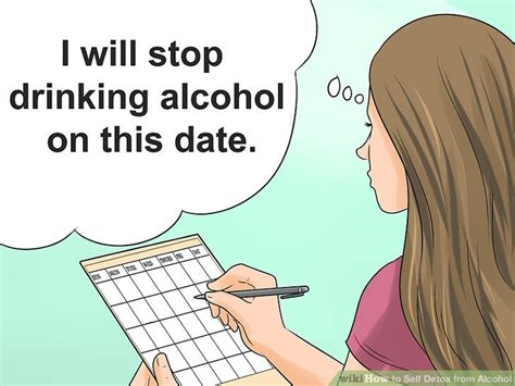 Quit Detox Drink by How To Self Detox From With Pictures Wikihow