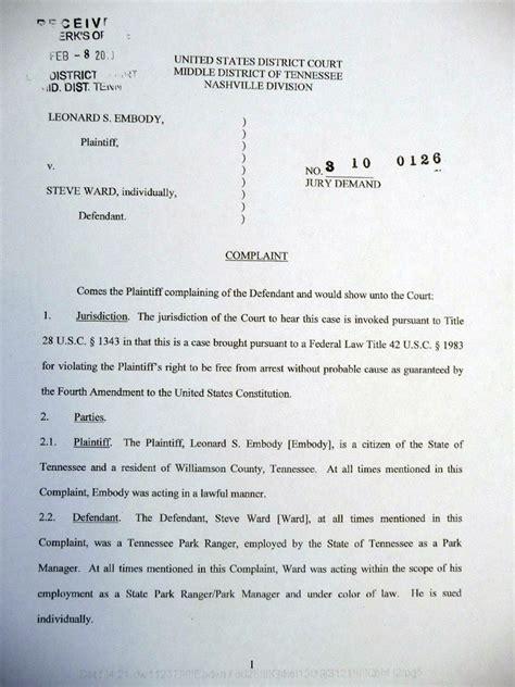 Tennessee Court Records Divorce Leonard Embody Ak 47 Pistol Incident In Tn Court