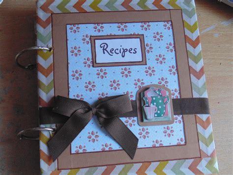 Handmade Recipe Book Ideas - recipe book michel watson