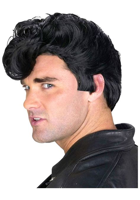 greaser hairstyle product mens 50s greaser wig